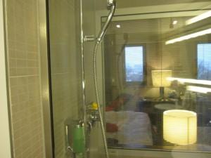 Blick Bad-Hotelzimmer