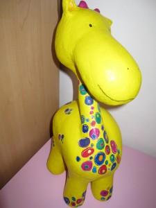Papierzirkus_Giraffe