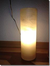 Alabaster Lampe