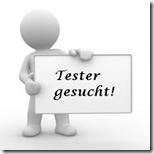 Tester gesucht Icon