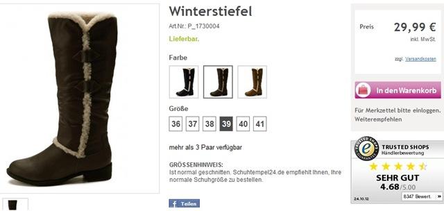 199e249c730fdf Online Schuhe shoppen bei Schuhtempel24.de – Die Testerin