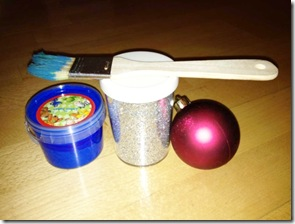 Material_Weihnachtskugeln