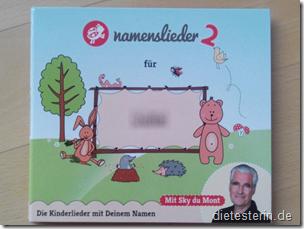 Namenslieder-Huelle