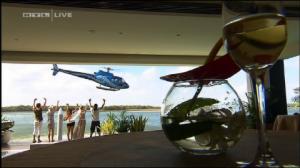 Dschungelcamp Hubschrauber