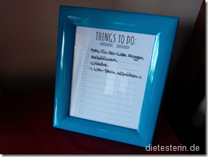 To Do Liste DIY