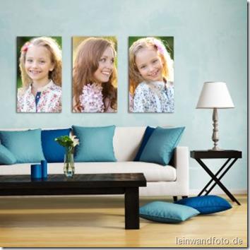 Triptychon_Mama_Zwillinge_014_Leinwandfoto.de_
