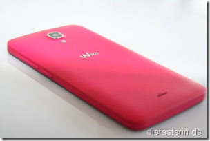 Wiko bloom Ansicht