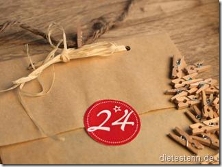 Postkarten Adventskalender