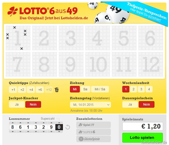 lotto online auszahlung