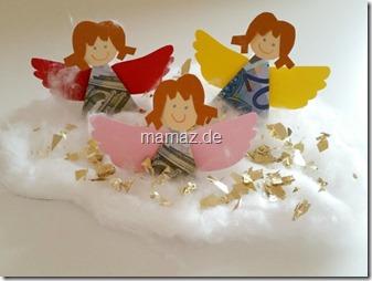 Geldgeschenk Engel