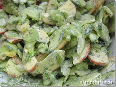 Apfel-Gurken-Salat Rezept