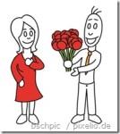 Der Valentinstag lässt grüßen – Männer, Blumen sind angesagt!!