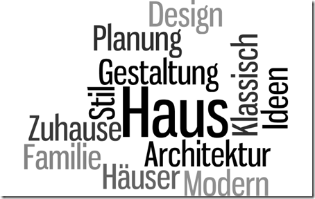 wordle Haus