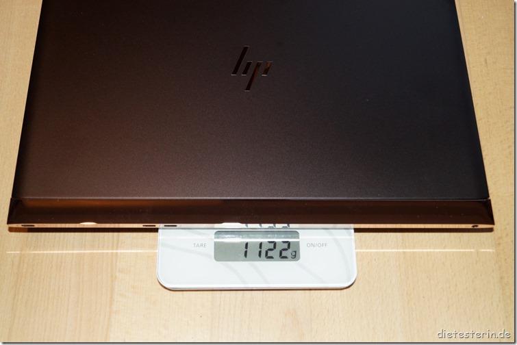 HP Spectre 13 Gewicht