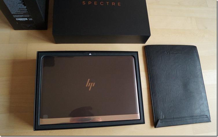 HP Spectre 13 Lieferumfang
